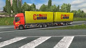 100 Truck Tandems PACK TANDEMS IN TRAFFIC V21 ETS2 Mods Euro Truck Simulator 2