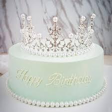 kristall diamanten perle crown kuchen topper hochzeit taufe taufe geburtstag kuchen dekorieren werkzeuge kuchen dekoration liefert