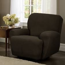 Sure Fit Wing Chair Recliner Slipcover by Amazon Com Maytex Stretch Reeves 4 Piece Recliner Slipcover
