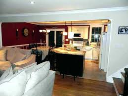 Kitchen Dining Room Combo Amazing Decoration Open Floor Plan Living