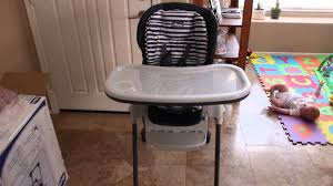 Graco Space Saver High Chair by Chicco Polly Space Saving Fold Highchair Unboxing And Review