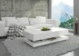 couchtisch hochglanz weiß wohnzimmer tisch beistelltisch