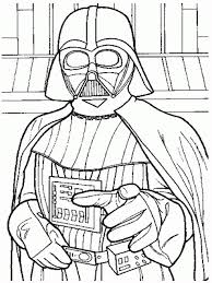 Download Coloring Pages Darth Vader Free Printable Star Wars
