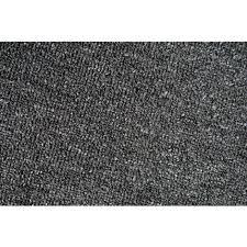 teppich kurzflor 50 x 80 cm anthrazit läufer eckig wohnzimmer flur