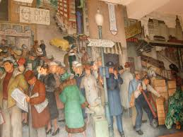 Coit Tower Murals Images by John And Marie Claire San Francisco California