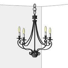 feiss chandeliers ceiling wall mounted table l 3d model