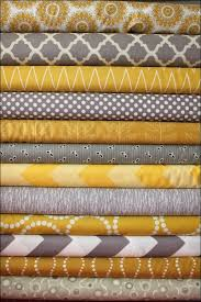 Yellow And Gray Kitchen Curtains by Interiors Magnificent Yellow Grey Curtain Panels Yellow And Gray