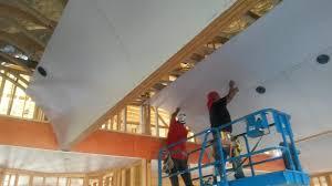 Hanging Drywall On Ceiling Joists by Scott Farmer Drywall Abilene Tx Drywall