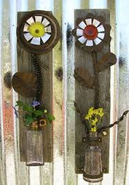 Rustic Floral Wall Art Set Of 2
