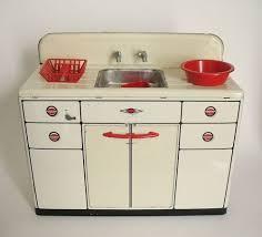 Vintage 1950s Wolverine Metal Kitchen Sink With Accessories