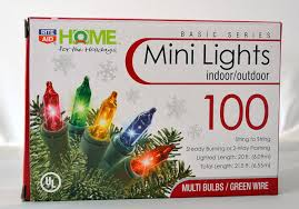 amazon com rite aid home for the holiday 100 color mini lights