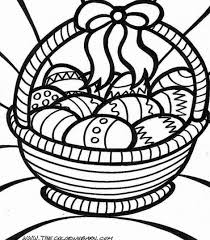 Free Easter Coloring Pages Printable Archives Best Page Online