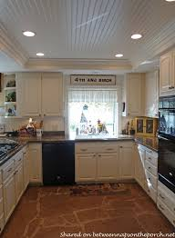 Good Kitchen Renovation With White Cabinets Granite Recessed Lighting