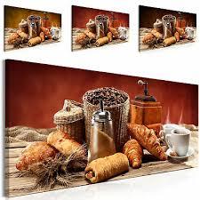 dekoration vlies leinwand bilder küche kaffe caffe