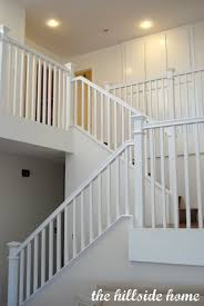 Stair: Minimalist Staircase Decorating Design Ideas With White ... Best 25 Modern Stair Railing Ideas On Pinterest Stair Wrought Iron Banister Balusters Stairs Design Design Ideas Great For Staircase Railings Unique Eva Fniture Iron Stairs Electoral7com 56 Best Staircases Images Staircases Open New Decorative Outdoor Decor Simple And Handrail Wood Handrail