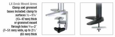 Lx Desk Mount Lcd Arm Manual by Esis Desk Mounts For Lcd Monitors Ergotron
