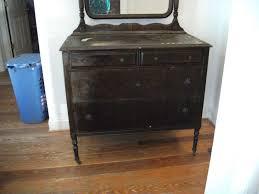 Antique Birdseye Maple Dresser With Mirror by Antique Large Dresser On Wheels W Mirror Large Dresser Dresser