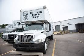 Two Men And A Truck Eyes Expansion In 12 NJ Markets | NJBIZ Two Men And A Trucks Extensive Traing Paves The Road To And A Truck Deal With Logistics Of Political Movements Las Vegas North Nv Movers Taylor Partners Ross Medical Education Center Help Us Deliver Hospital Gifts For Kids Two Men And Truck On Twitter Are You Watching The Chicago Movers In South Macomb Mi Best Places Worktwo Covabiz Magazine Driver Who Blog Nashville Tn Headquarter Interior Design Paragon Filetwo Trucksjpg Wikimedia Commons