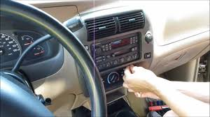 How To Remove And Replace The Radio In A Ford And Mazda - YouTube