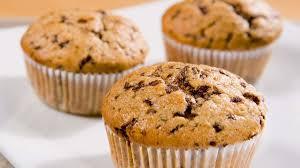 schokostreusel bananen muffins