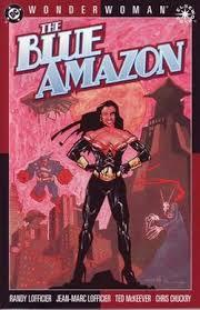 Wonder Woman The Blue Amazon