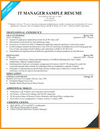 Sample Retail Manager Resume Objectives For It Assistant Fast Food