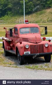 100 1944 Ford Truck Antique Fire Engine Stock Photo 19354168 Alamy