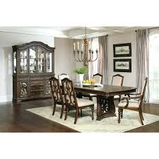 Formal Dining Set Traditional Antique Java 7 Piece Rectangular Used Room