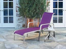 Stackable Outdoor Sling Chairs by Woodard Landings Sling Aluminum Stackable Chaise Lounge 6g0470