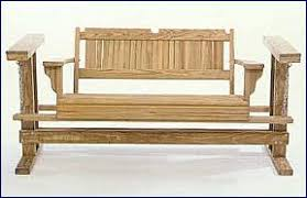 woodcraft plans and wood project patterns for porch swings and