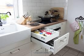 ikea küchenschrank schubladen dekoration bild idee