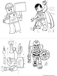 Lego Batman 2 Dc Super Heroes Coloring Pages For KidsFree