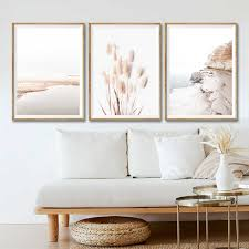 coastal seascape canvas prints nordic style wall