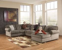 Ashley Furniture Jessa Place Dune Right Side Chaise Sectional