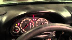 Malfunction Indicator Lamp Honda Crv 2007 by Honda Cr V Instrument Cluster Lights Replacement Hd Youtube