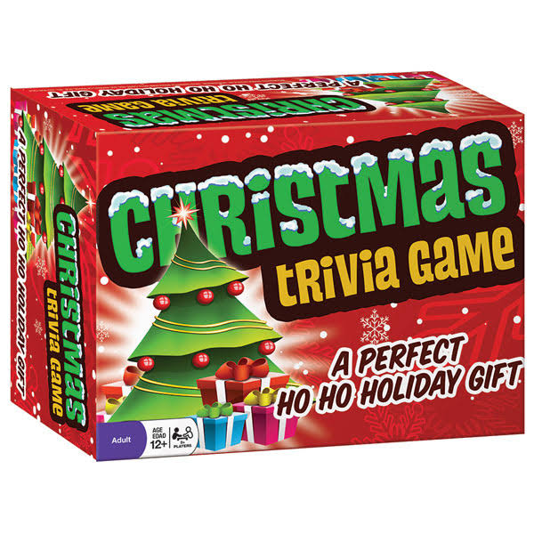 Outset Media Christmas Trivia Game