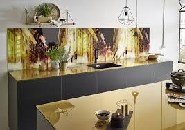 küchenrückwand holz glas oder metall