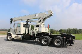 100 Truck Mounted Cranes National Crane Responds To Customer Demand With Tractormounted