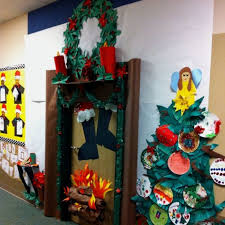 christmas wall decoration ideas classroom best ideas about