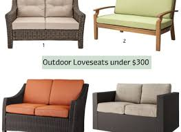 Patio Furniture Under 300 by New Loveseats Under 300 19 On Indoor Patio Furniture With