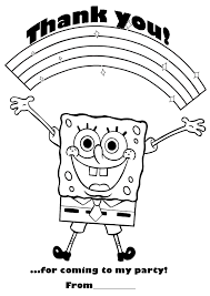 Free Printable Coloring Pages Spongebob Birthdayds Car Pictures Canyon