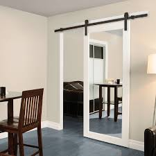 Casa Design & Decor 78102B Rustic Barn Door Hardware Kit ... Amazoncom Hahaemall 8ft96 Fashionable Farmhouse Interior Bds01 Powder Coated Steel Modern Barn Wood Sliding Fascating Single Rustic Doors For Kitchens Kitchen Decor With Black Stool And Ana White Grandy Door Console Diy Projects Pallet 5 Steps Salvaged Ideas Idea Closet The Home Depot Epbot Make Your Own Cheap