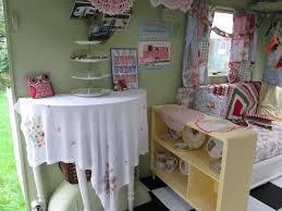 Camper Interior Decorating Ideas by Cath Kidston Vintage Caravan Garden Room Lady Shed Playroom Sewing