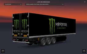 MONSTER ENERGY TRAILER STANDALONE V1.0   ETS 2 Mods - Euro Truck ... Highenergy Trucks Compete In Sumter The Item Monster Energy Jeep Truck Window Tting All Shade 3m And Ogio Bagster Raptor Trophy Scaledworld 2017 Jam Truck Suv And Pickup Body Style Truckvan Pack Gta5modscom Brings The Worlds Craziest Driving To Mexico Slash Rcnitrotalk Rc Forum News Page 8 Debuts Birmingham 2014 Ford F250 Gallery Photos