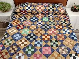 Nine Patch Quilt magnificent specially made Amish Quilts from