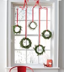 Easy Christmas Wreaths Glue Greens On Embroidery Hoop