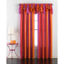chf you rainbow ombre girls bedroom curtain panel valance