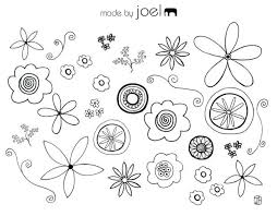 Made Flower Coloring Sheet Flowers Sheets Free Printable Pdf Mindful Pages For Adults