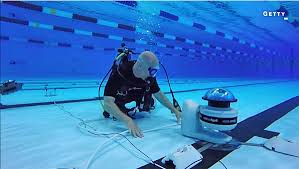 Watch Getty Photographers Employ Underwater Robots To Get Great Shots At The Olympics VIDEO
