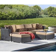 Sirio Patio Furniture Replacement Cushions by Niko 6 Piece Modular Seating Set By Sirio